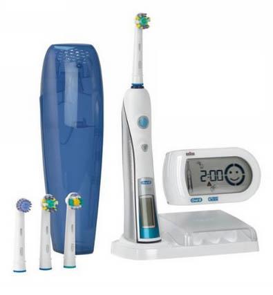test de la brosse dents lectrique oral b triumph 5000. Black Bedroom Furniture Sets. Home Design Ideas