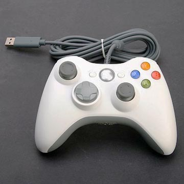test de la manette filaire microsoft xbox 360 usb windows pc bruglia. Black Bedroom Furniture Sets. Home Design Ideas