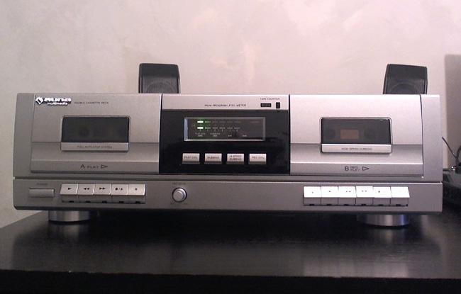 test du auna mastertape platine double lecteur k7 de. Black Bedroom Furniture Sets. Home Design Ideas
