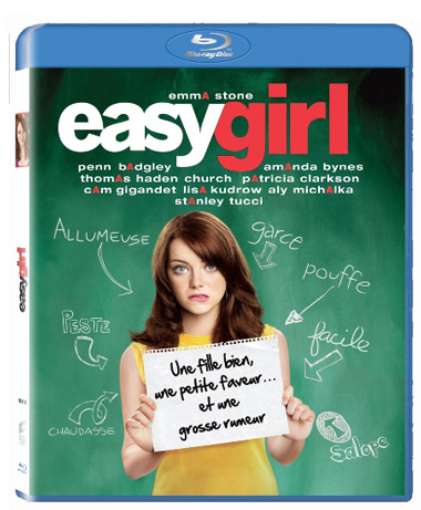 Bluray du film Easy Girl